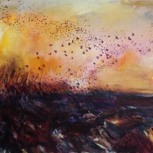 Sort Sol over marsken..Galleri Sct. Gertrud